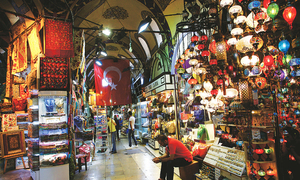 Istanbul nearly a ghost town as tourists stay away