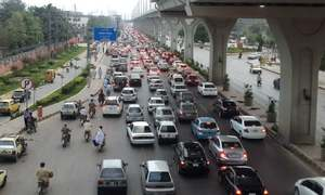 Protests, rallies lead to traffic congestion