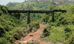 Centuries-old railway bridges in bad shape