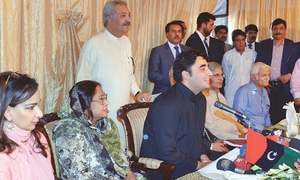 Bilawal gives 'cautious' response to Imran's remarks on military takeover