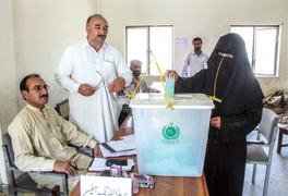 Voting for Kashmir assembly held peacefully in KP, Fata