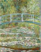 Artichive: 'Bridge over a Pond of  Water Lilies'
