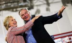 Clinton picks Kaine as running mate, bypassing liberals