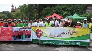 Events held to raise awareness about anti-dengue measures