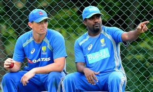 Inspired by Murali, Aussies take on Lankans