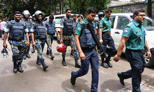 Bangladesh arrests four female militants in hunt for cafe attackers