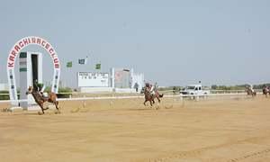 Sun Shine steals limelight at Karachi races