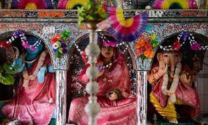 حاجی نوشاد کی بگھی پر ہندوؤں کی رتھ یاترا