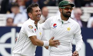 Hafeez's bowling action to be reassessed after Old Trafford Test