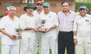 KG Veterans beats Omar Gladiators in festival match
