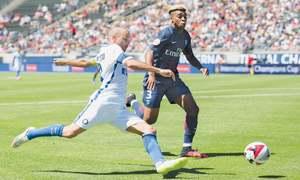 Aurier bags brace as PSG down Inter 3-1