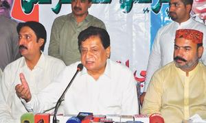Jatoi vows to launch drive if Murad made Sindh chief minister