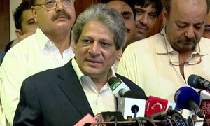 Sindh governor accepts Qaim Ali Shah's resignation