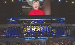 History made as Clinton clinches nomination of Democratic Party