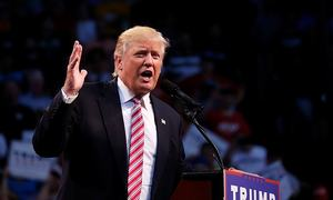 Trump encourages Russia to hack Clinton emails