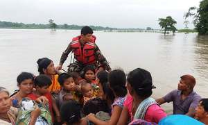 Nepal, India floods leave more than 90 dead; at least 2 million flee homes