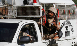Waiting for policing powers, Rangers raid MQM offices