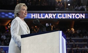 Clinton accepts historic nomination, slams Trump's vision