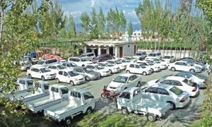 Smuggling of vehicles from Afghanistan continues unabated