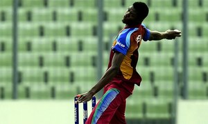 West Indies call up 19-year-old Alzarri Joseph for second Test against India