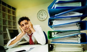 کیا آپ گھر پر بھی دفتر کا کام کرتے ہیں؟