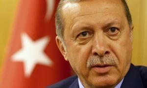 ترک صدر کا امریکی جرنیل پر 'باغیوں کی پشت پناہی' کا الزام