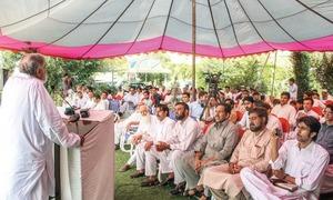 Tribute paid to late Pashto poet Raj Wali Khattak