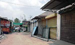 55 shops sealed over 'non-payment of rent'