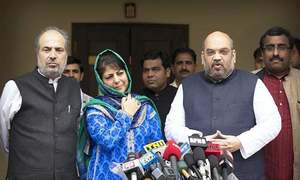 برہان وانی ہلاکت : وزیر اعلیٰ 'مقبوضہ' کشمیر کا اظہار افسوس