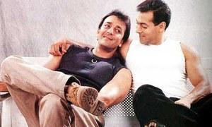 سلمان خان کے بری ہونے پر خوش ہوں، سنجے دت