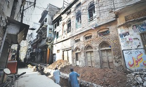 Erasing Peshawar's soul, one building at a time