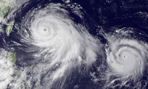 چین میں سمندری طوفان 'ندا' کا انتباہ جاری