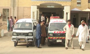 12 killed as Karachi-bound bus collides with truck in Jamshoro