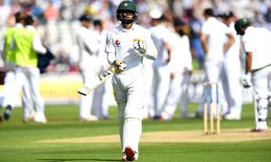 Analysis: Hafeez's poor run outside Asia continues in England