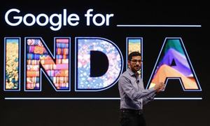Google enters India's food market