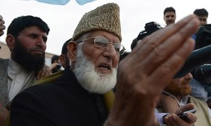 Youths determined to oust India from Kashmir: Geelani