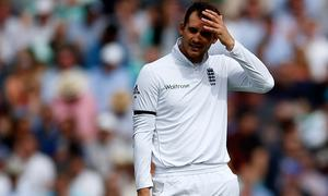 Alex Hales fined 15pc match-fee for showing dissent over dismissal