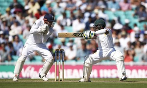 Oval Test: Younis, Shafiq's centuries steer Pakistan to 340-6