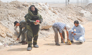 No 'risk allowance' for bomb squad