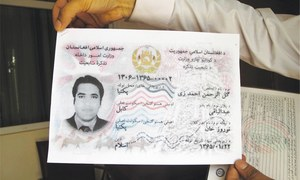 Afghan ID cards were meant to stop voter fraud but instead stoked ethnic division