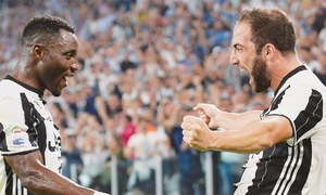 Higuain gets Juve going