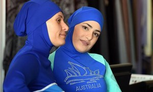 Burkini bans good for sales: Australian designer