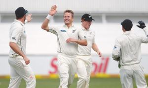 Players frustrated as SA-NZ Test abandoned due to wet field