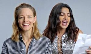 Priyanka Chopra, Jodie Foster recreate Britney Spears' 'Toxic' and it's hilarious
