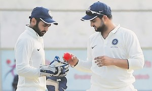 Floodlight failure spoils India's pink ball debut