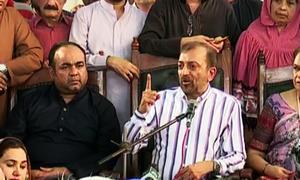 'پریس کانفرنس سے قبل الطاف حسین کو اعتماد میں نہیں لیا گیا'
