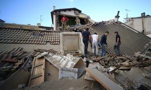 اٹلی میں 6.3 شدت کا زلزلہ، 73 افراد ہلاک