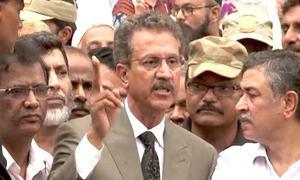 ایم کیو ایم کے وسیم اختر کراچی کے میئر منتخب