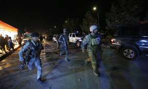Militants attack on American University in Kabul kills one, injures 14
