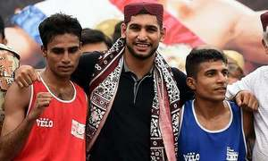 Boxer Amir says land given to him is 'disputed'